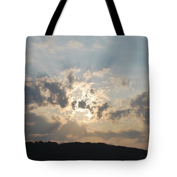 Tote Bag featuring the photograph Sunrise 1 by George Katechis