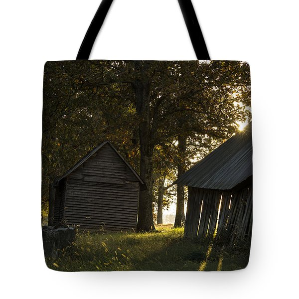 Tote Bag featuring the photograph Sunrise by Amber Kresge