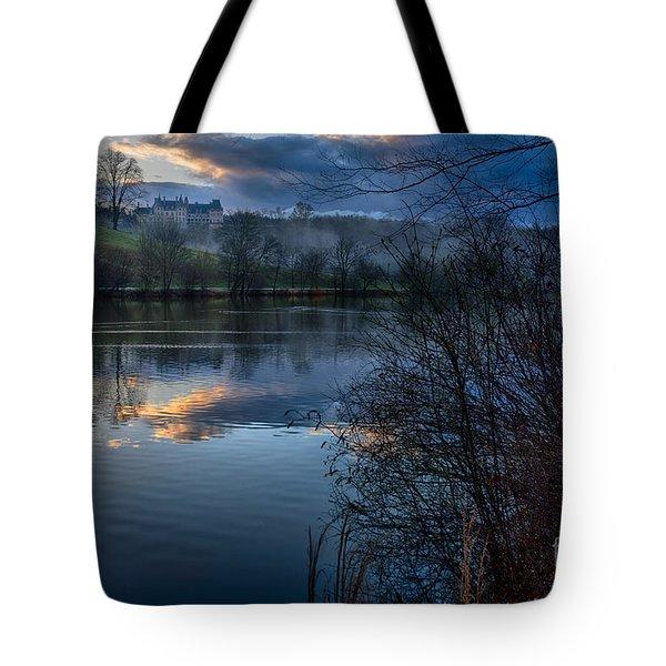 Sunrise At  Biltmore Estate Tote Bag