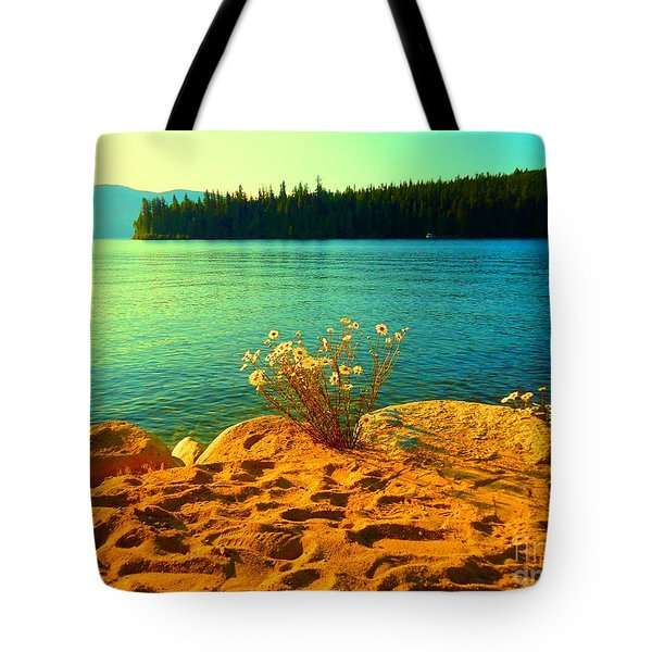 Sunrise At Daisy Lake Tote Bag by Ann Johndro-Collins