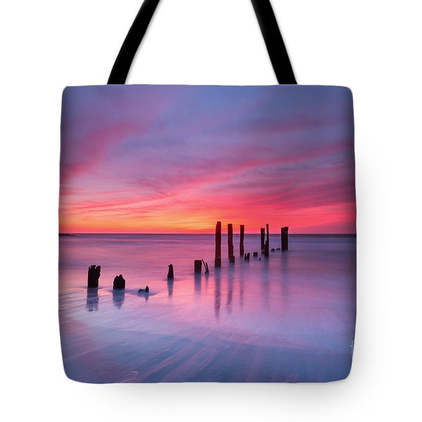 Sunrise At Deal Nj Tote Bag