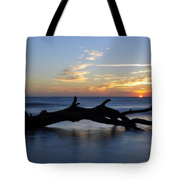 Sunrise At Driftwood Beach 7.2 Tote Bag