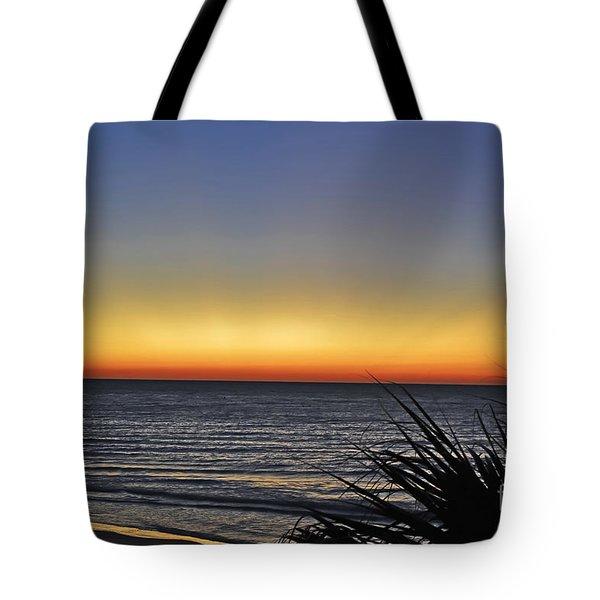 Sunrise At Folly Tote Bag