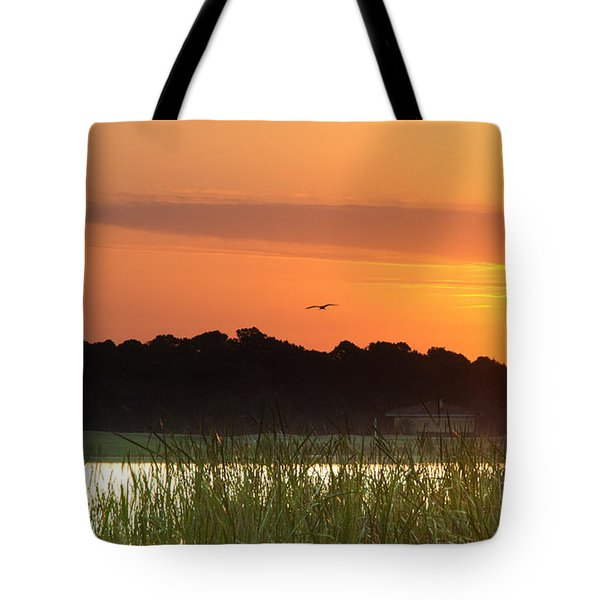 Sunrise At Lakewood Ranch Florida Tote Bag