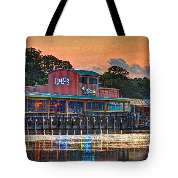 Sunrise At Lulu's Tote Bag