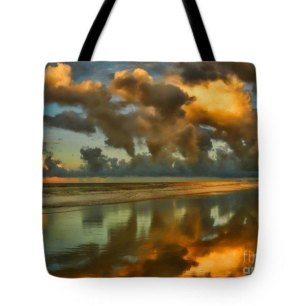 Sunrise At Myrtle Beach II Tote Bag by Jeff Breiman