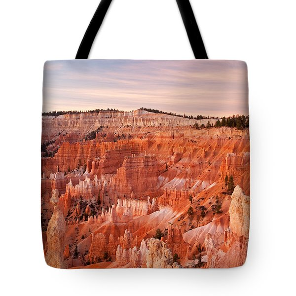 Sunrise At Sunset Point Bryce Canyon National Park Tote Bag