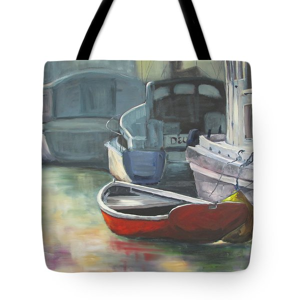 Sunrise At Ten Foot Hole Tote Bag by Susan Richardson