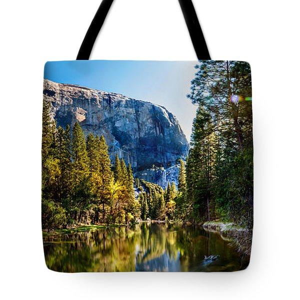 Sunrise At Yosemite Tote Bag