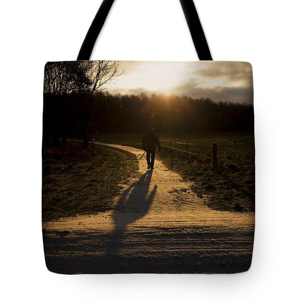 Sunrise Atmosphere Tote Bag