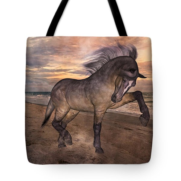 Sunrise Lower Outer Banks Tote Bag