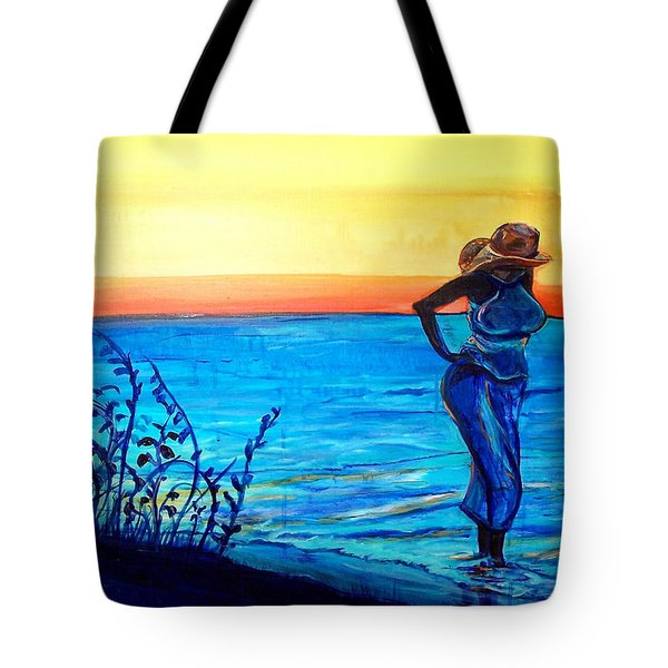 Sunrise Blues Tote Bag