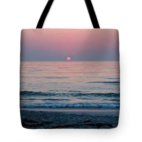 Sunrise Blush Tote Bag