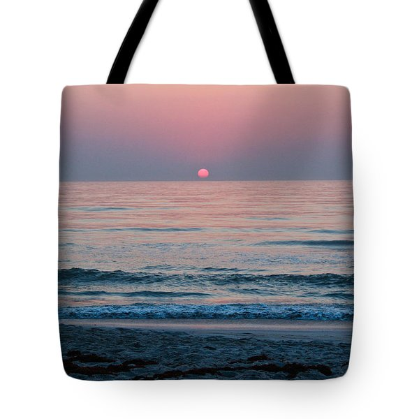 Sunrise Blush Tote Bag
