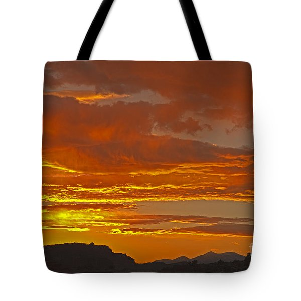 Sunrise Capitol Reef National Park Tote Bag