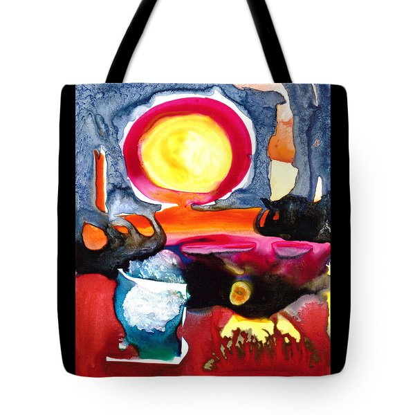 Sunrise Tote Bag by Catherine Redmayne