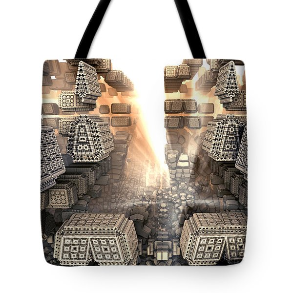 Sunrise City Tote Bag by Kevin Trow
