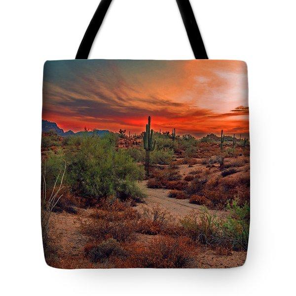 Sunrise Cocktail Tote Bag