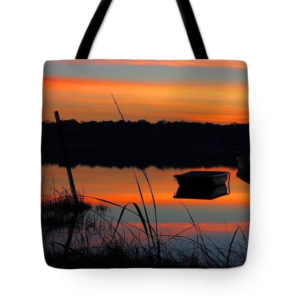 Sunrise Cove  Tote Bag by Dianne Cowen