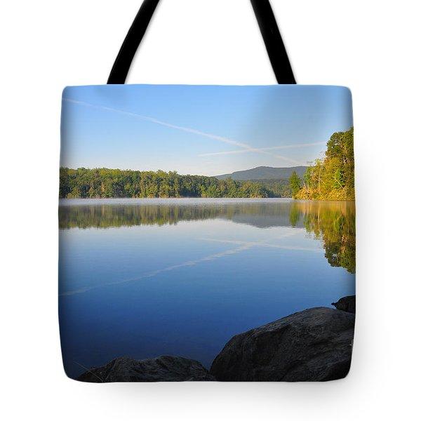 Sunrise Cross Tote Bag
