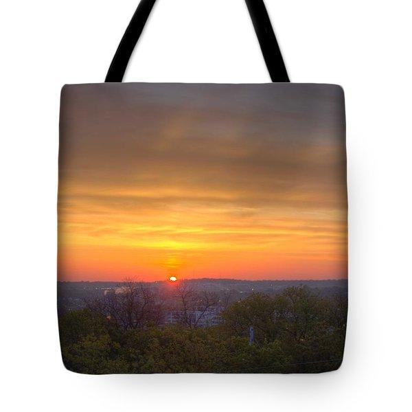 Sunrise Tote Bag by Daniel Sheldon