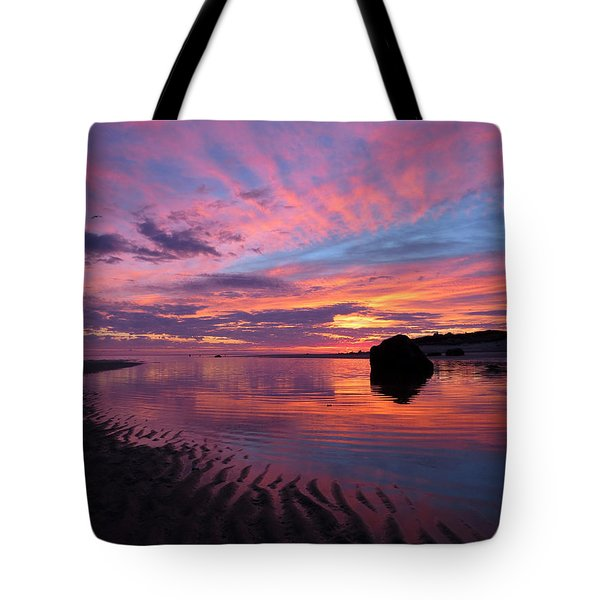 Tote Bag featuring the photograph Sunrise Drama by Dianne Cowen