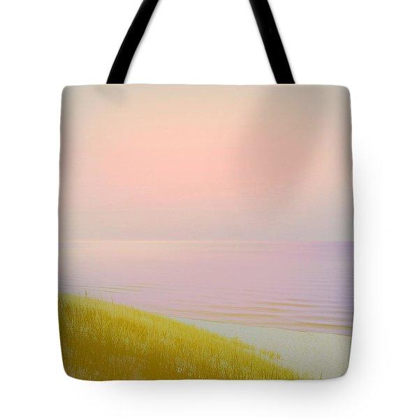 Sunrise Dune Tote Bag by Michelle Calkins