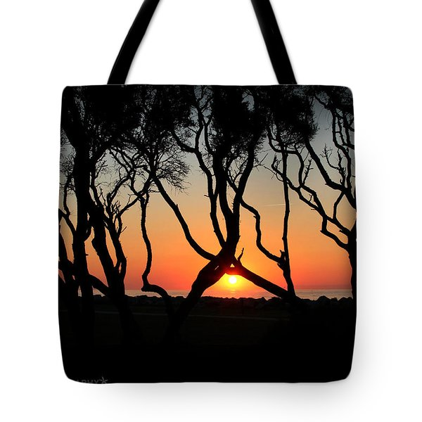 Sunrise Fort Fisher Tote Bag