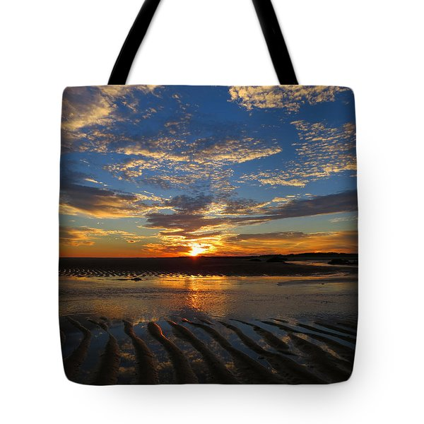 Tote Bag featuring the photograph Sunrise Glory by Dianne Cowen