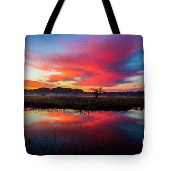Sunrise Glory Tote Bag