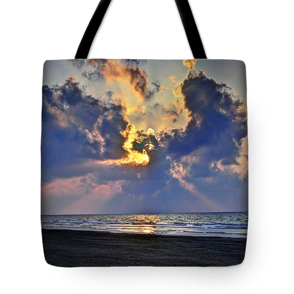 Sunrise... Hilton Head Island Tote Bag by Deborah Klubertanz