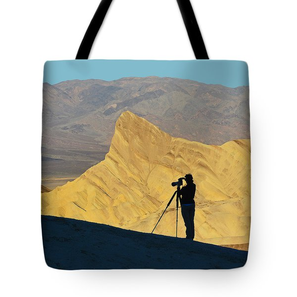 Tote Bag featuring the photograph The Photographer's Art by Dana Sohr