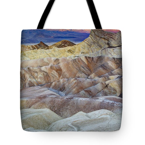 Sunrise In Death Valley Tote Bag