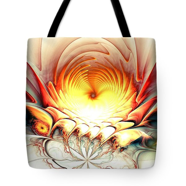 Sunrise In Neverland Tote Bag by Anastasiya Malakhova