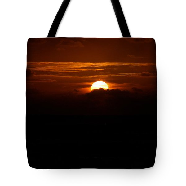 Sunrise In The Clouds Tote Bag by Lehua Pekelo-Stearns