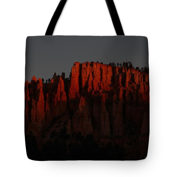 Sunrise In The Desert Tote Bag