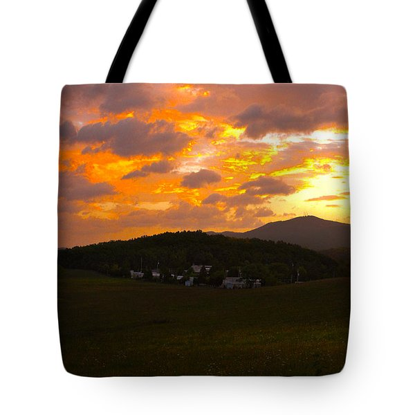 Sunrise In The Smokies Tote Bag