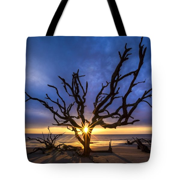 Sunrise Jewel Tote Bag