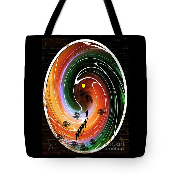 Sunrise Joggers  Tote Bag