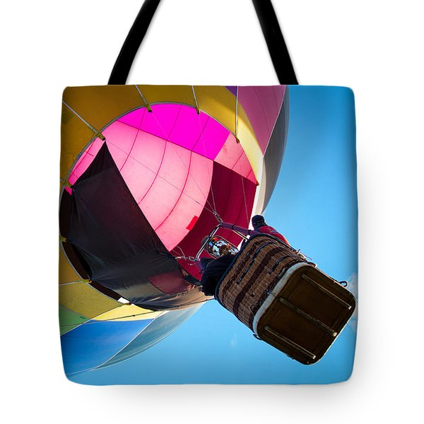 Tote Bag featuring the photograph Sunrise Launch by Patrice Zinck