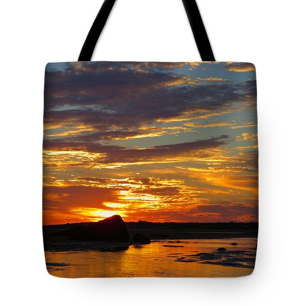 Tote Bag featuring the photograph Sunrise Magic by Dianne Cowen
