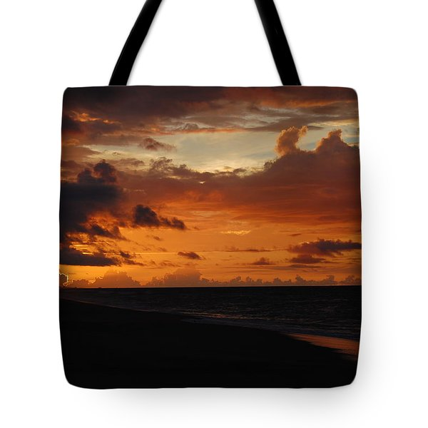 Tote Bag featuring the photograph Sunrise  by Mim White