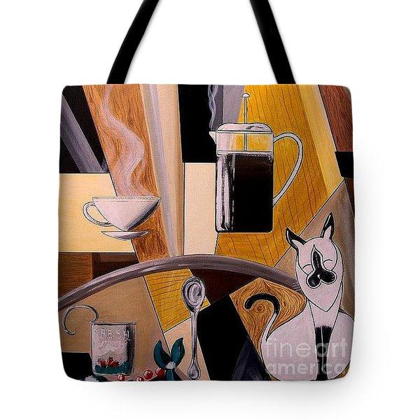 Sunrise Morning Ritual Tote Bag by John Lyes