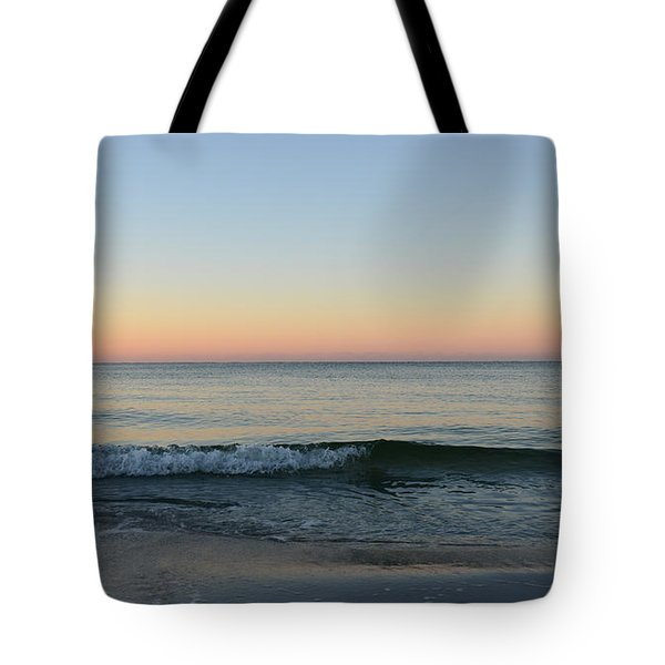 Sunrise On Alys Beach Tote Bag by Julia Wilcox