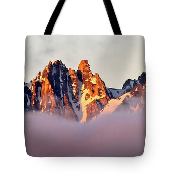 Sunrise On An Island In The Sky Tote Bag