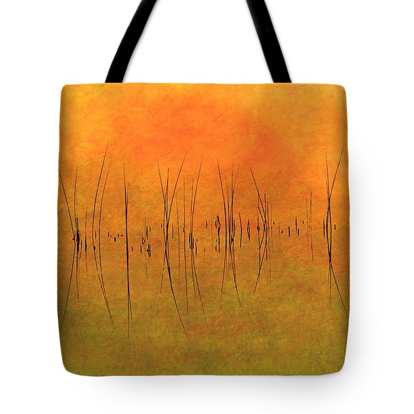 Sunrise On The Bay Tote Bag by Andrea Kollo