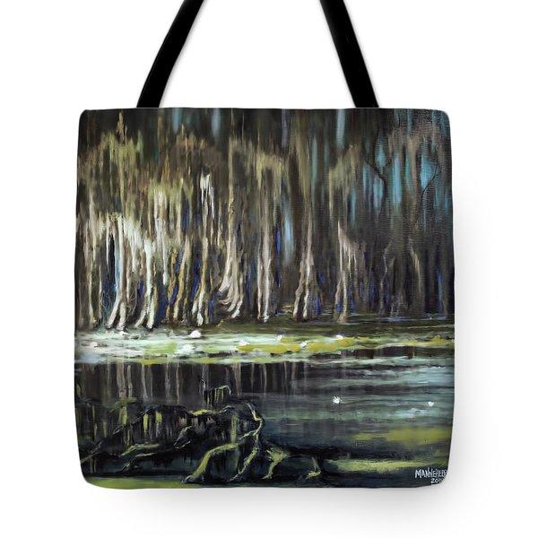Sunrise On The Bayou Tote Bag