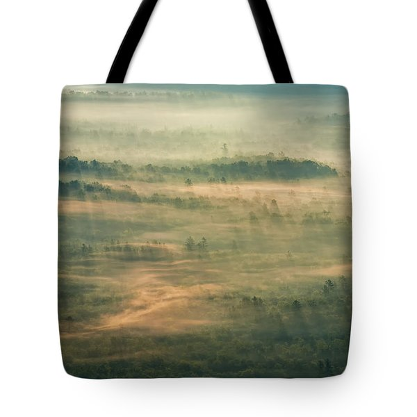 Sunrise On The Parkway - Blue Ridge Parkway - Asheville - North Carolina Tote Bag by Photography  By Sai