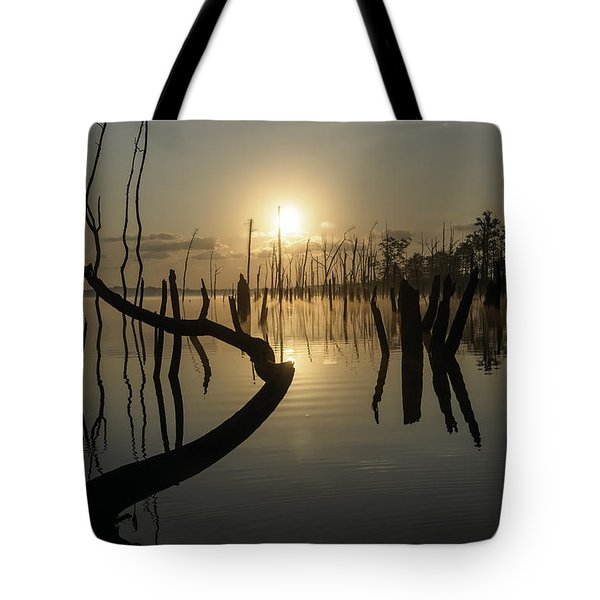 Sunrise Over Manasquan Reservoir II Tote Bag