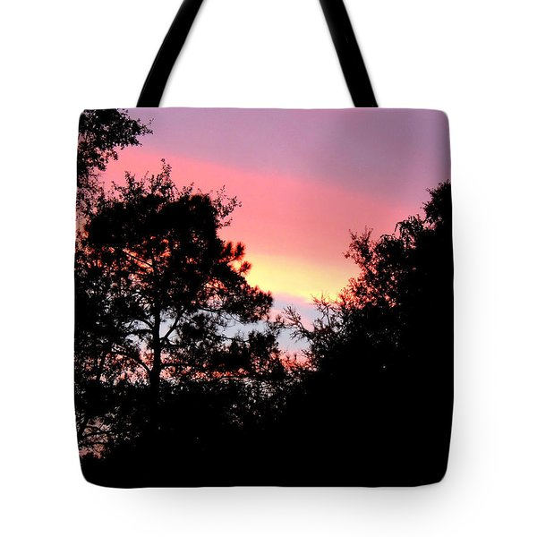 Sunrise Over Perry Tote Bag